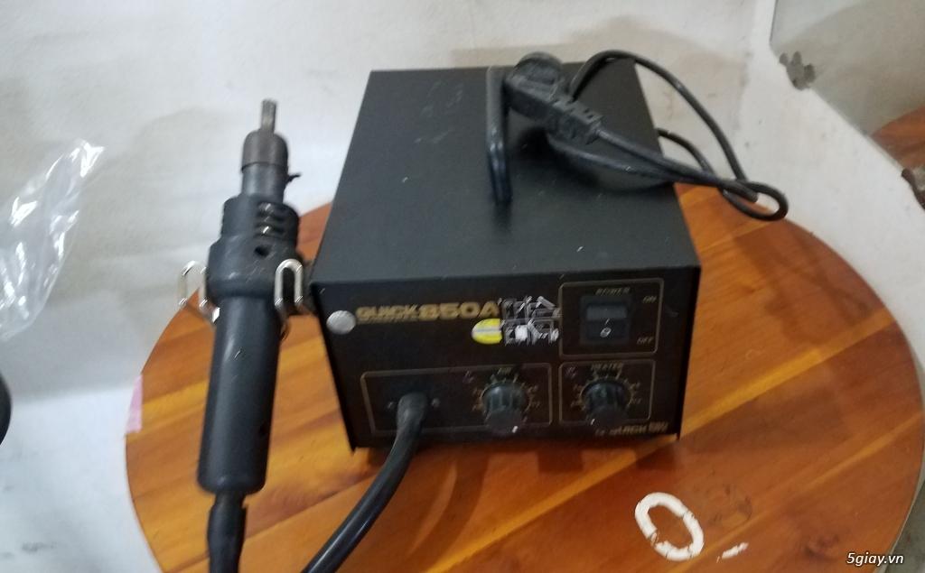 thanh lý máy khò QUICK 850A còn sử dụng tốt - 4