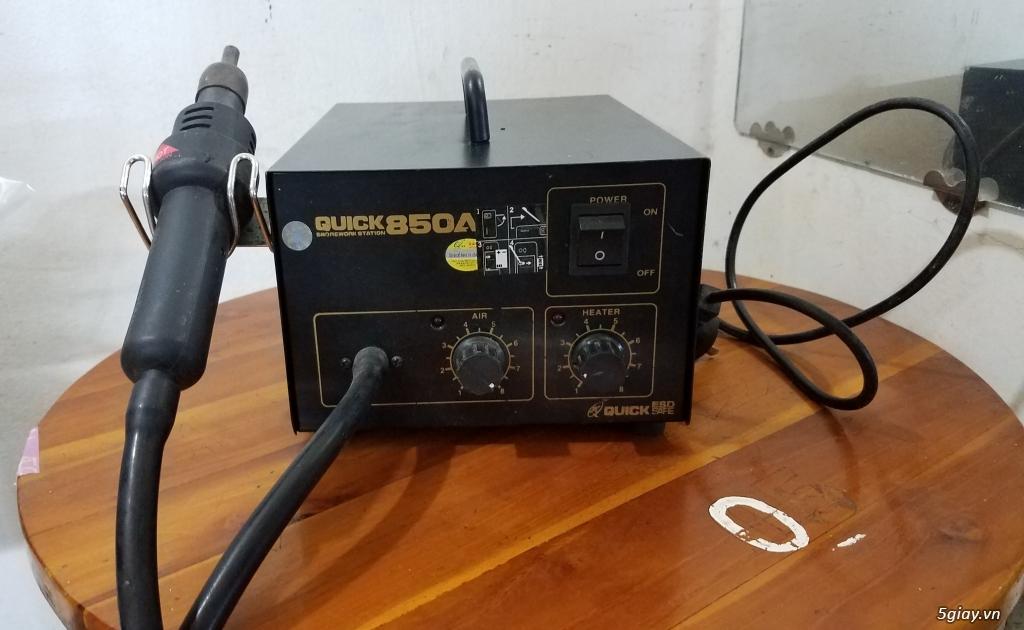 thanh lý máy khò QUICK 850A còn sử dụng tốt - 1
