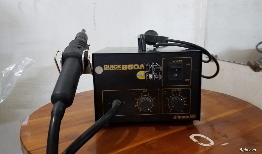 thanh lý máy khò QUICK 850A còn sử dụng tốt - 3
