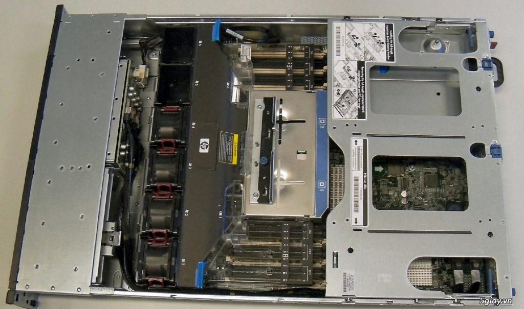 Máy chủ HP DL380G7 giá rẻ chuyên Video, Hosting, Game - 2