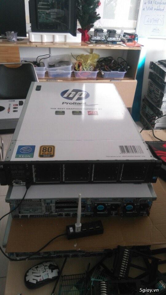 Máy chủ HP DL380G7 giá rẻ chuyên Video, Hosting, Game