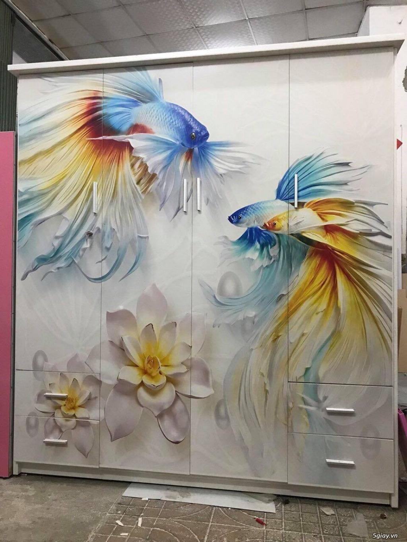 Tủ nhựa Đài Loan công nghệ in 3D cực sang trọng - 9