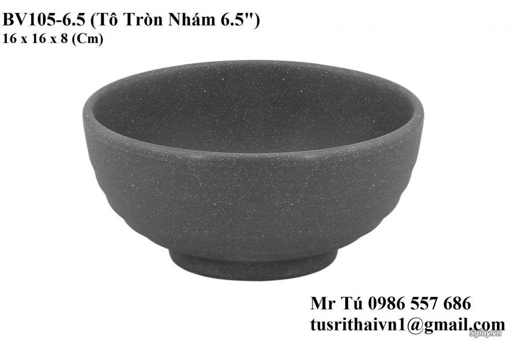 Chén Dĩa Nhám Superware Thái Lan - Granite - Dark grey - 2