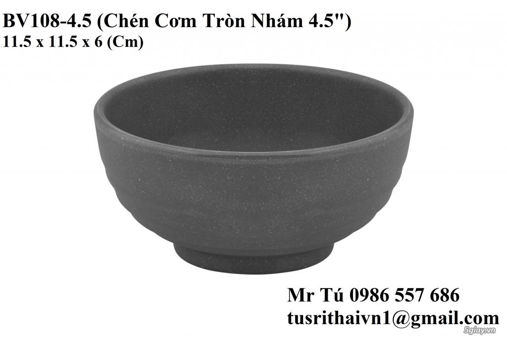 Chén Dĩa Nhám Superware Thái Lan - Granite - Dark grey - 11