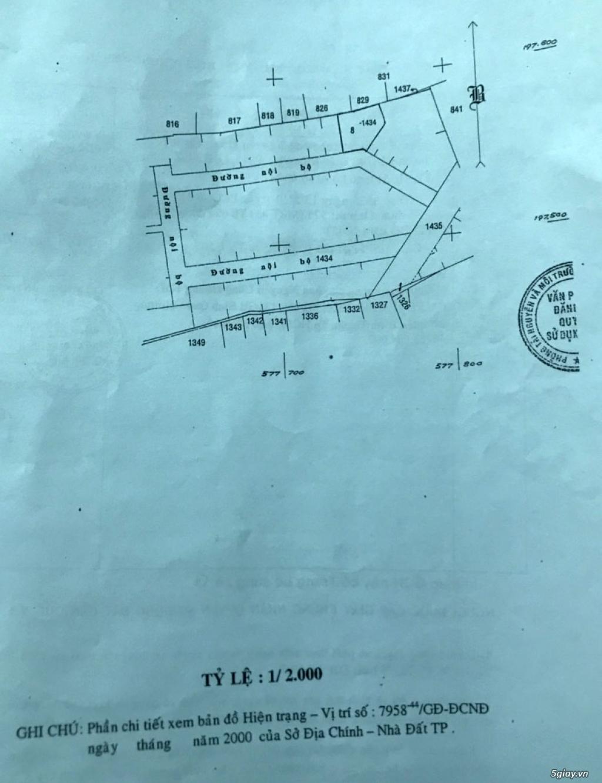 Bán nhanh lô đất thổ cư Sài Gòn 564 m2, sổ đỏ chính chủ - 4