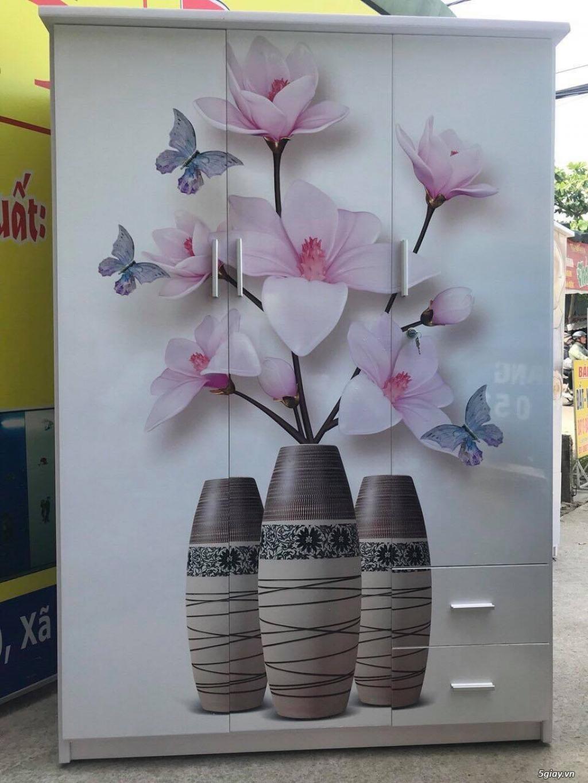 Tủ nhựa Đài Loan công nghệ in 3D cực sang trọng