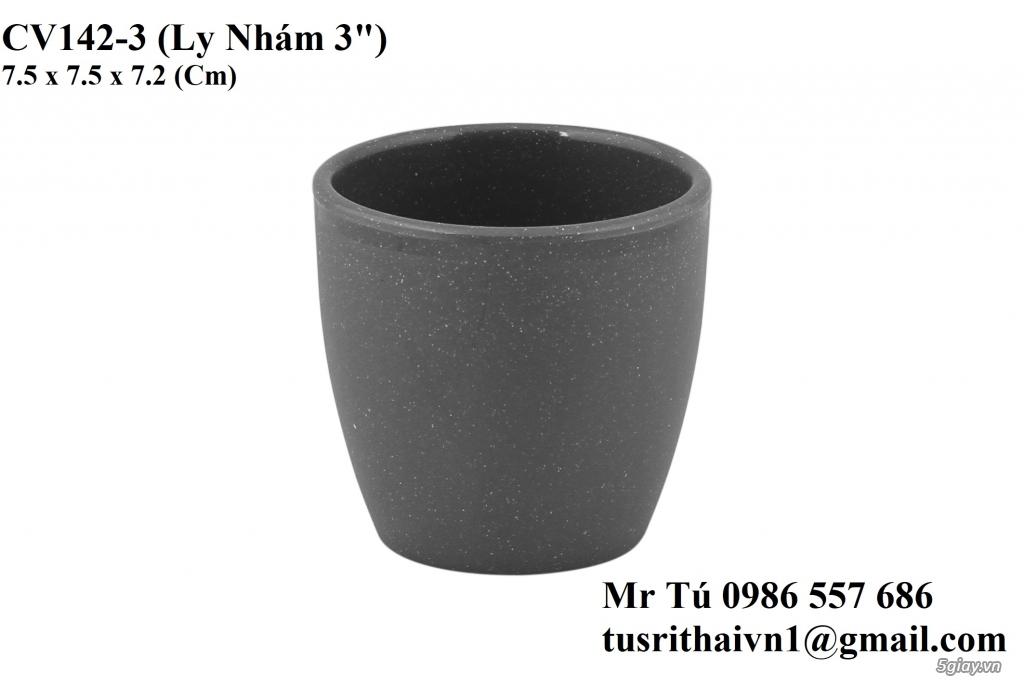 Chén Dĩa Nhám Superware Thái Lan - Granite - Dark grey - 9