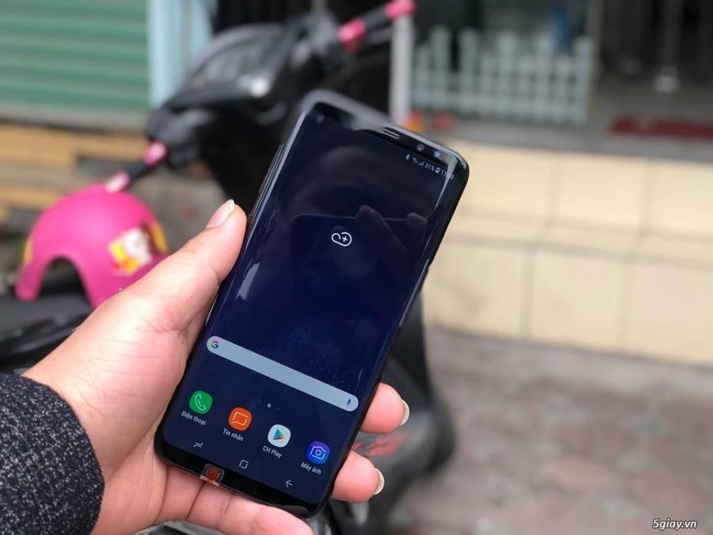 Samsung Galaxy S8 Plus trưng bày bản Hàn đã lên 2 sim - 1