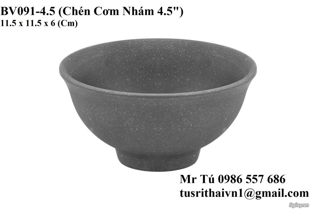 Chén Dĩa Nhám Superware Thái Lan - Granite - Dark grey - 3