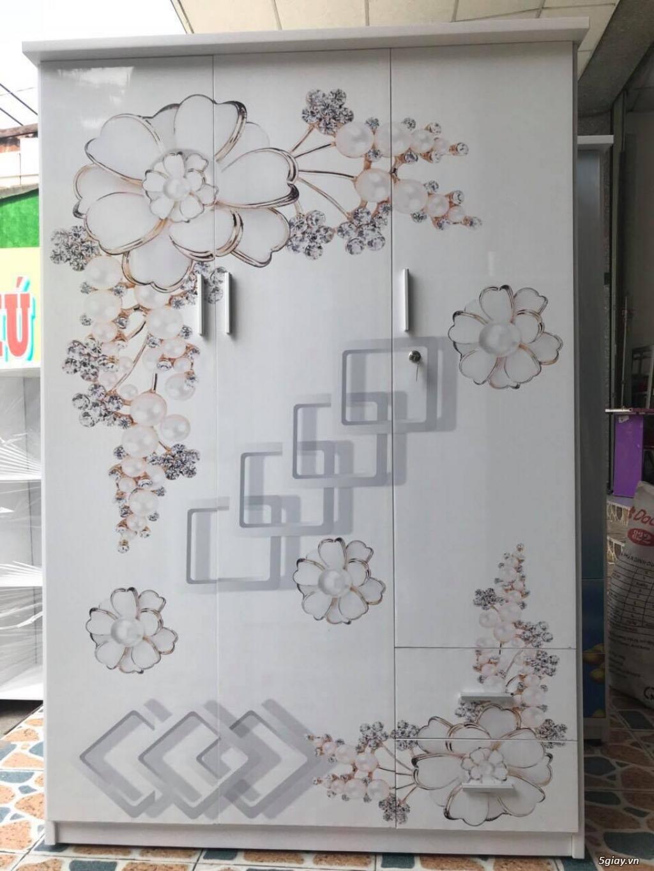Tủ nhựa Đài Loan công nghệ in 3D cực sang trọng - 5