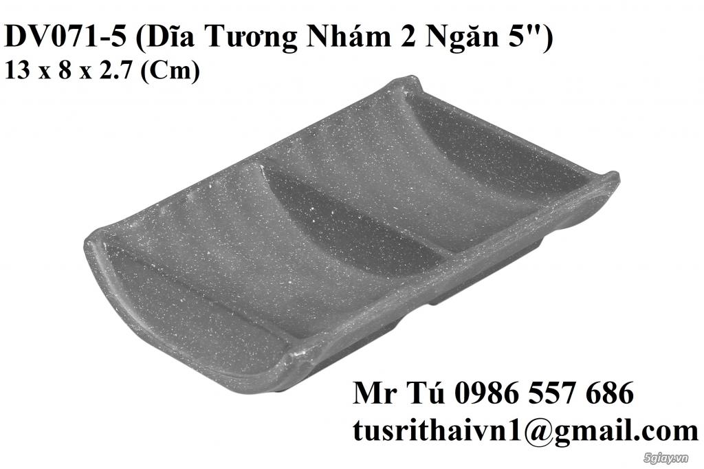 Chén Dĩa Nhám Superware Thái Lan - Granite - Dark grey - 10