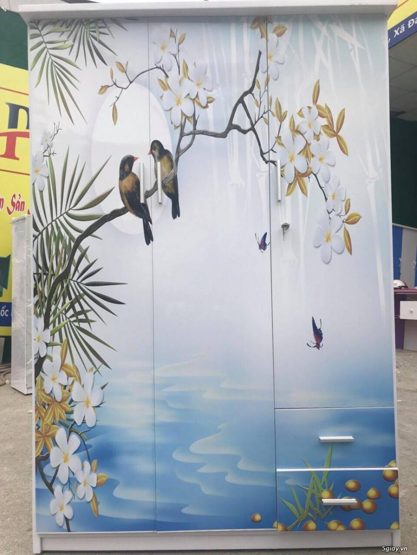 Tủ nhựa Đài Loan công nghệ in 3D cực sang trọng - 2