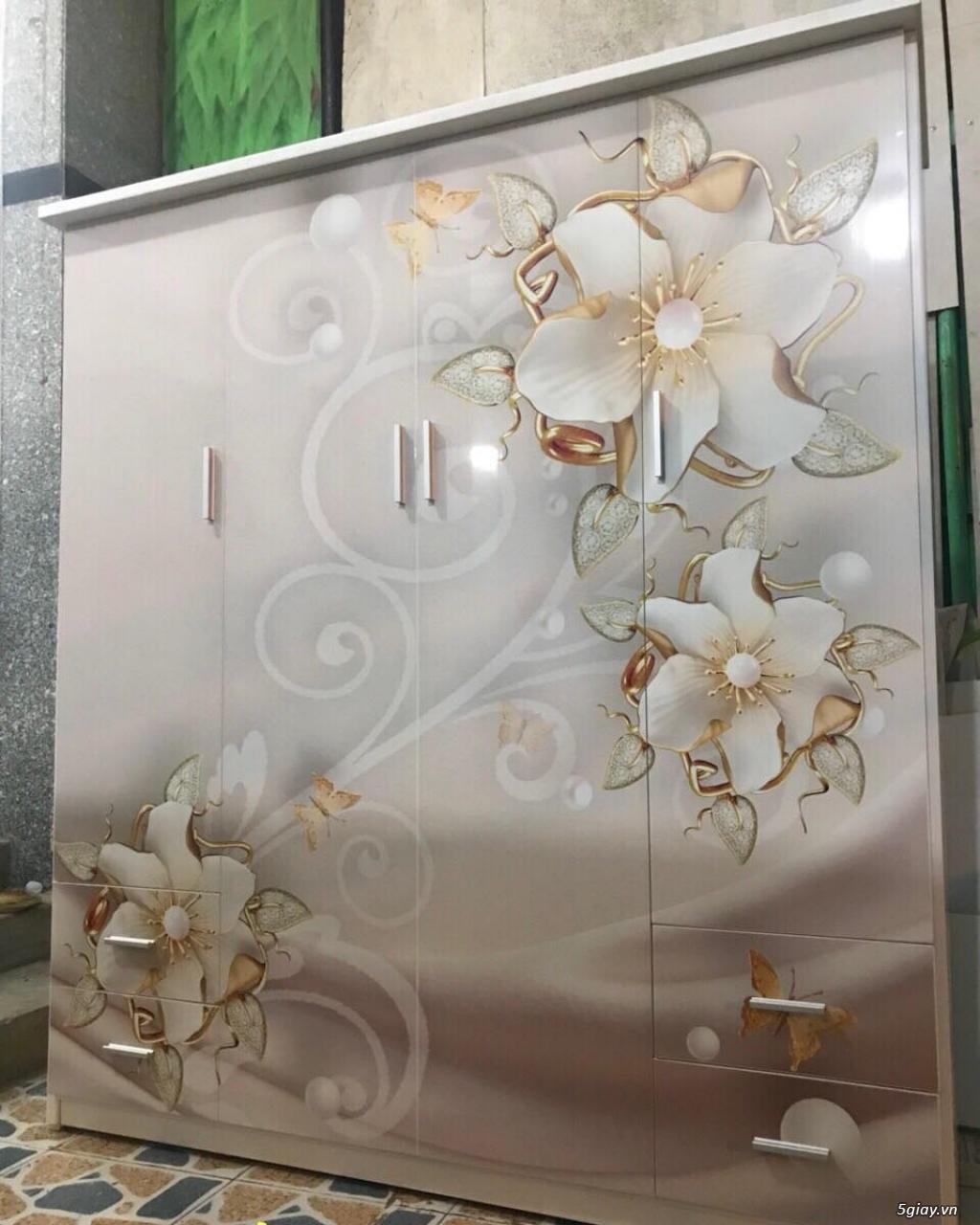 Tủ nhựa Đài Loan công nghệ in 3D cực sang trọng - 11