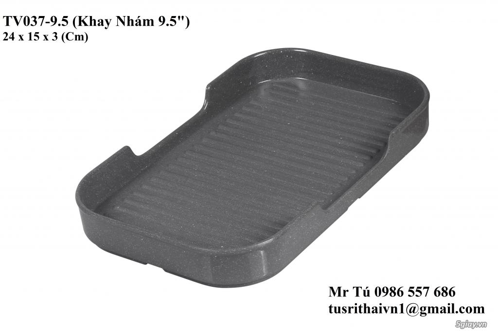Chén Dĩa Nhám Superware Thái Lan - Granite - Dark grey - 22