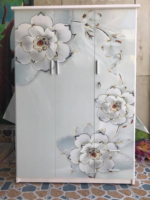 Tủ nhựa Đài Loan công nghệ in 3D cực sang trọng - 6
