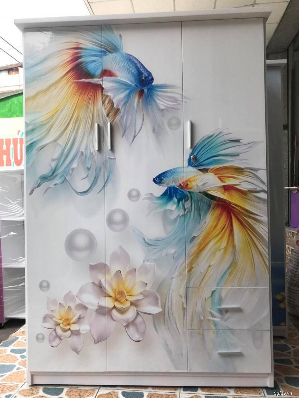 Tủ nhựa Đài Loan công nghệ in 3D cực sang trọng - 4