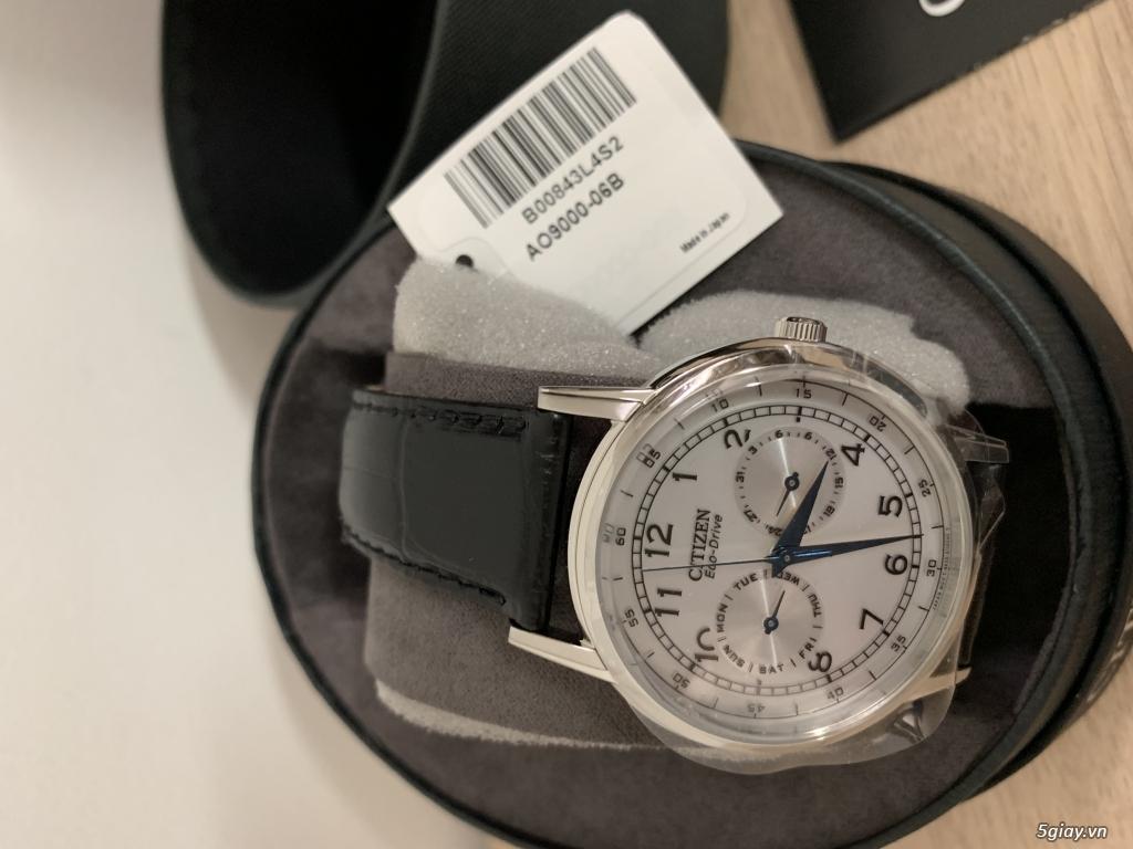 Đồng hồ nam Citizen Eco-Drive AO9000-06B mới 100%, full box - 1