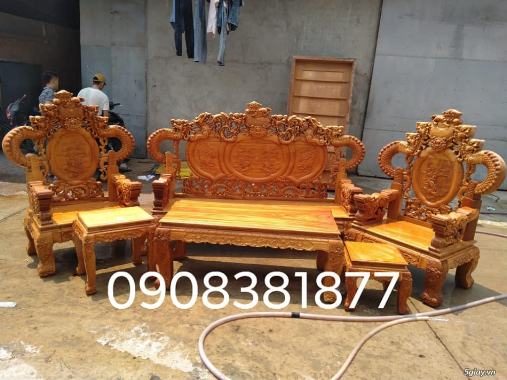 salon phòng khách gỗ quý giá cực rẻ ( xem hàng tại xưởng ) - 23