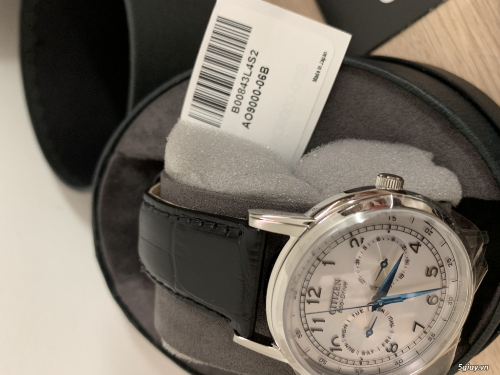 Đồng hồ nam Citizen Eco-Drive AO9000-06B mới 100%, full box - 3