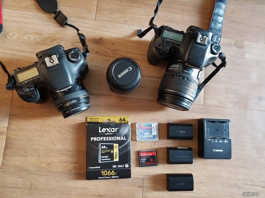 2 body Canon 7D và 3 ống kính canon - 3