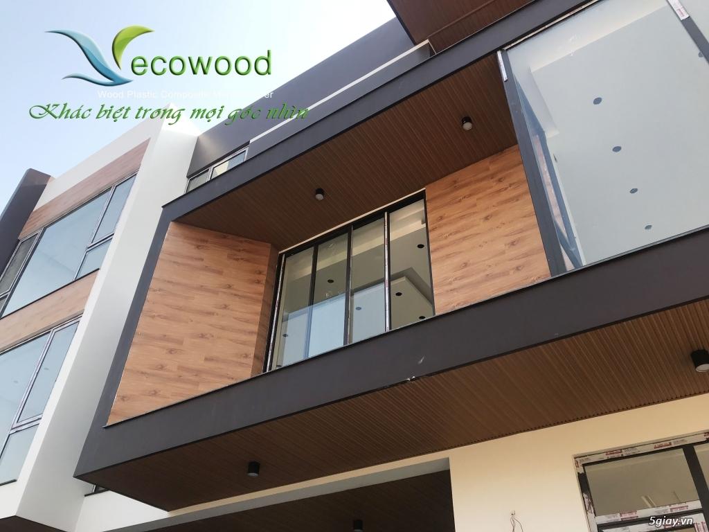 Gỗ nhựa Ecowood sử dụng cho trang trí nội ngoại thất - 4
