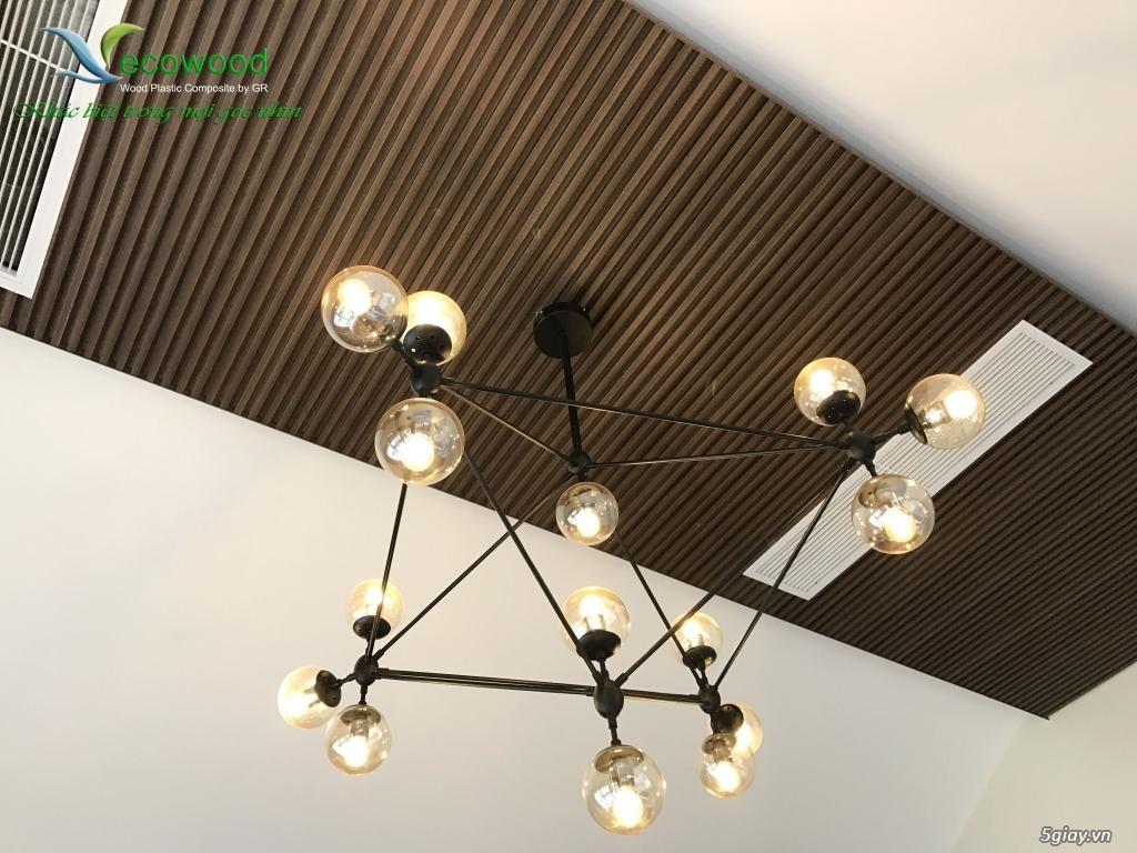 Gỗ nhựa Ecowood sử dụng cho trang trí nội ngoại thất - 3