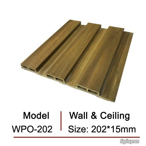 Gỗ nhựa Ecowood sử dụng cho trang trí nội ngoại thất - 1