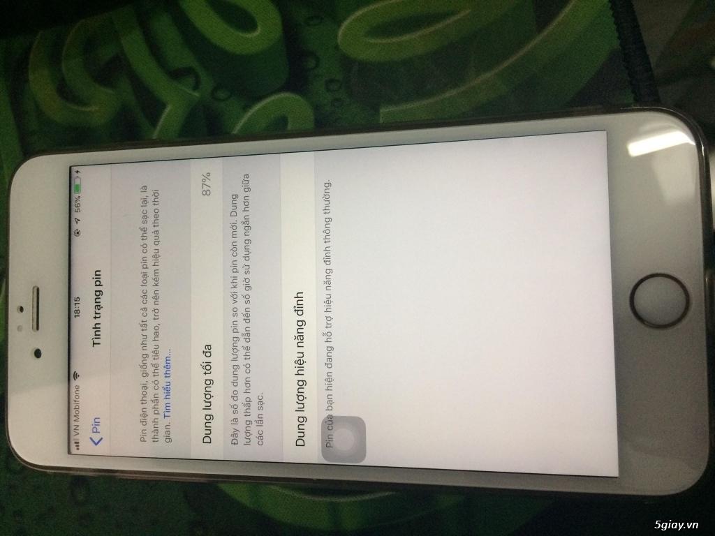 Cần bán Iphone 6s plus 16G vàng hồng quốc tế giá 4tr8 - 1