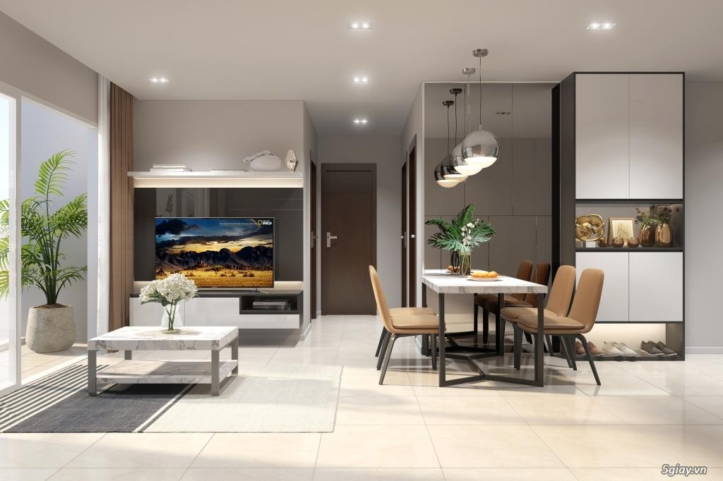 Nhận vẽ phối cảnh 3d nội thất giá rẻ nhà ở,chung cư, showroom,cafe - 1