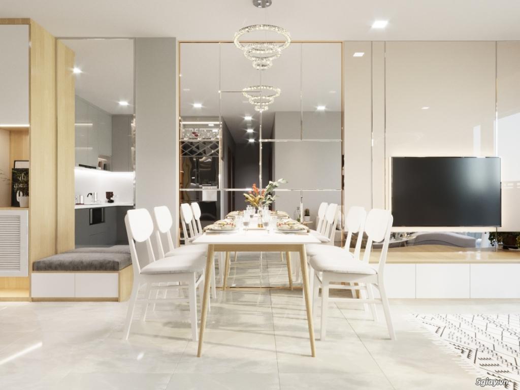 Nhận vẽ phối cảnh 3d nội thất giá rẻ nhà ở,chung cư, showroom,cafe - 5