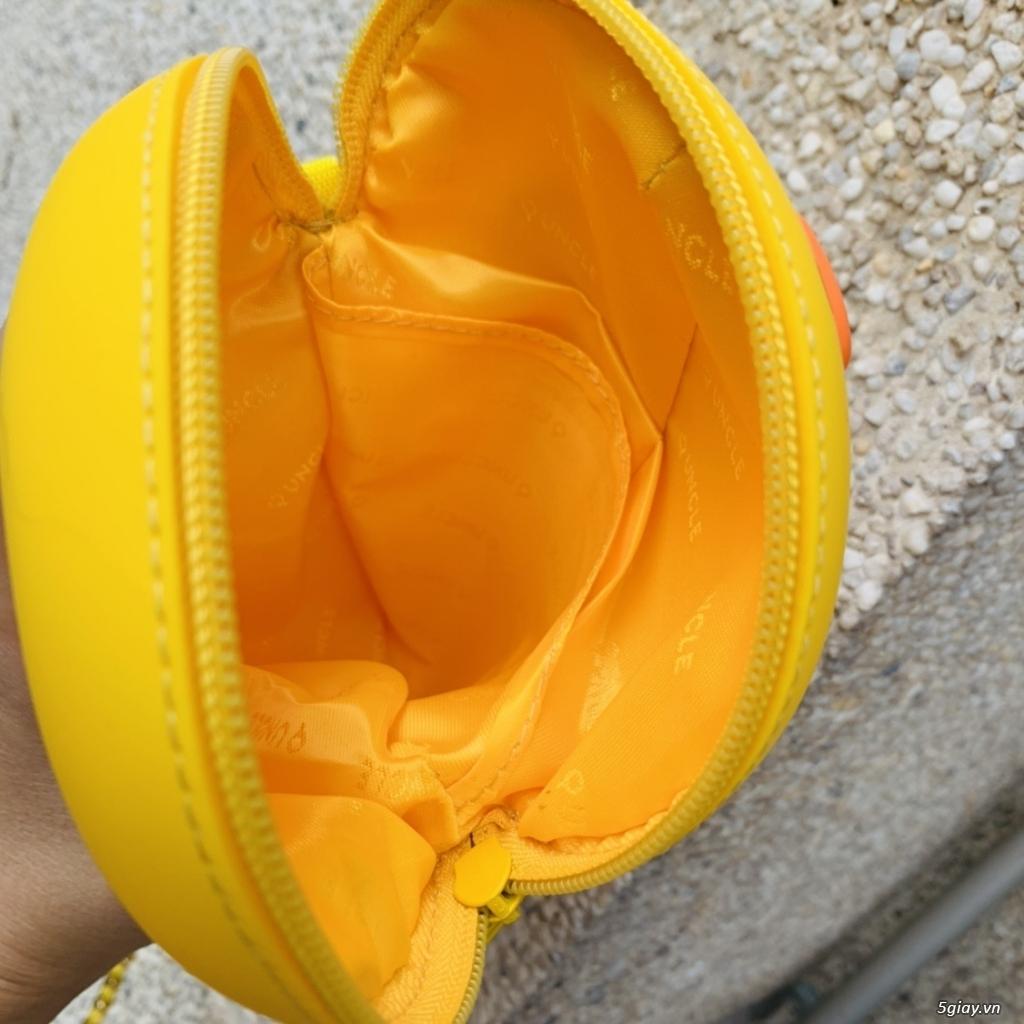 Túi đeo chéo Gấu Brown Linefriend - Túi Hình con Heo con vịt - 2
