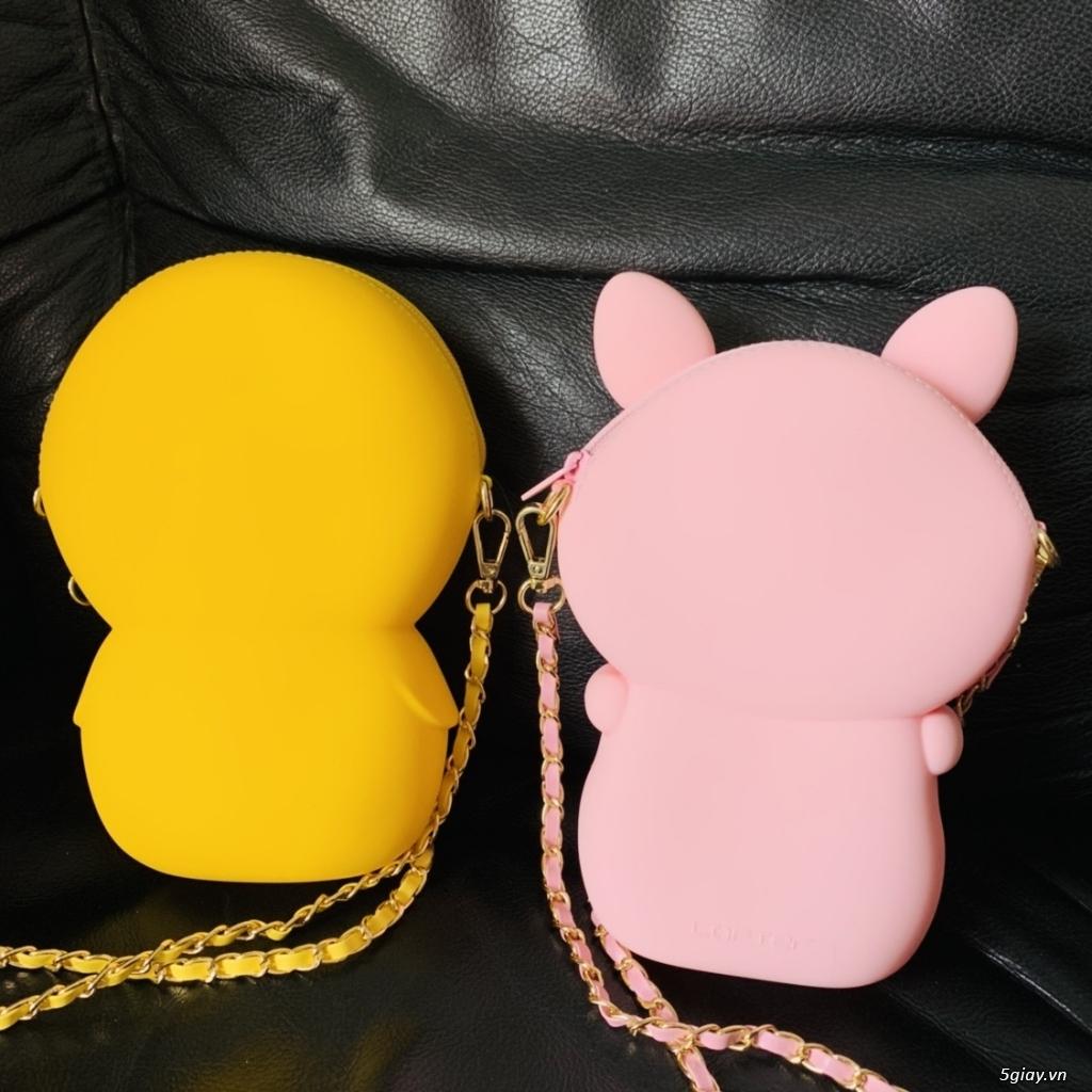 Túi đeo chéo Gấu Brown Linefriend - Túi Hình con Heo con vịt - 4