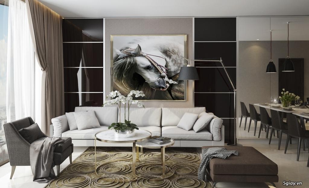 Nhận vẽ phối cảnh 3d nội thất giá rẻ nhà ở,chung cư, showroom,cafe - 13