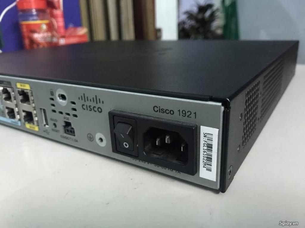 Thiết bị định tuyến (router) Cisco siêu rẻ! Bảo hàng 06 - 12 tháng! - 8