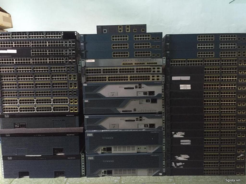 Thiết bị định tuyến (router) Cisco siêu rẻ! Bảo hàng 06 - 12 tháng!