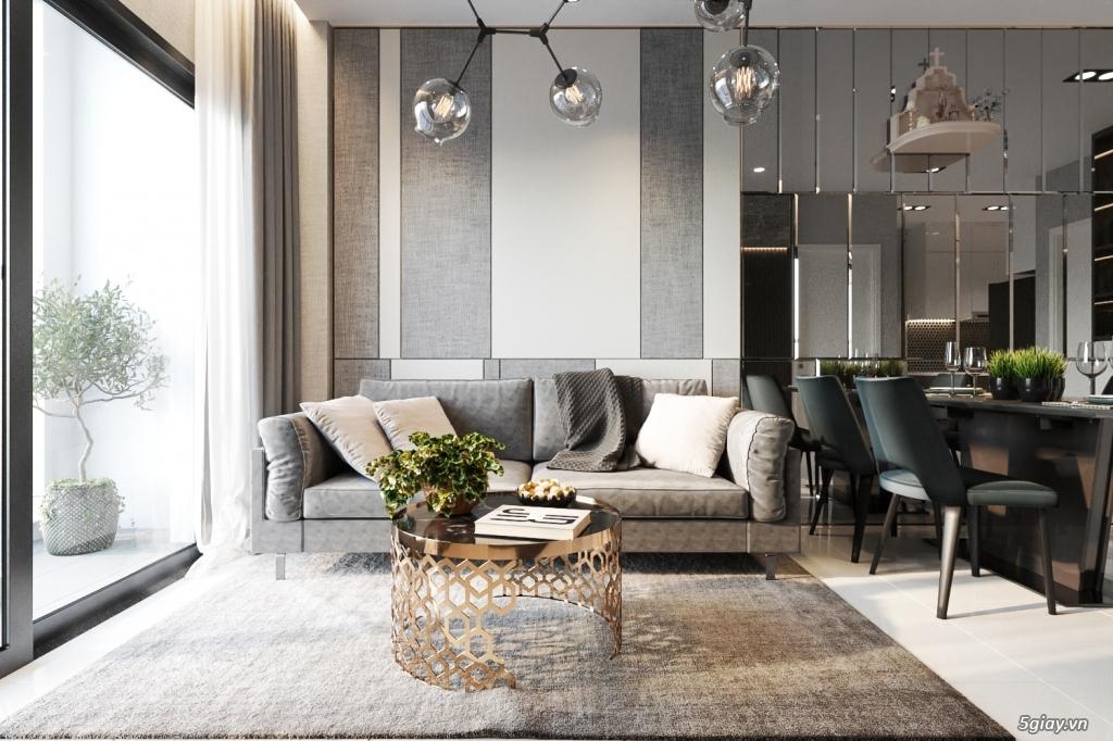 Nhận vẽ phối cảnh 3d nội thất giá rẻ nhà ở,chung cư, showroom,cafe - 4