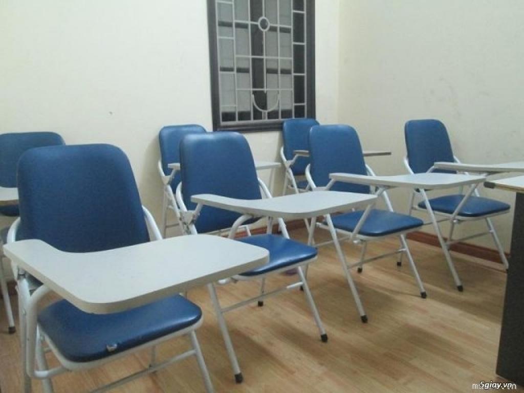 Thanh lý ghế gấp liền bàn học sinh, sinh viên giá rẻ. - TP.Hồ Chí Minh - Five.vn