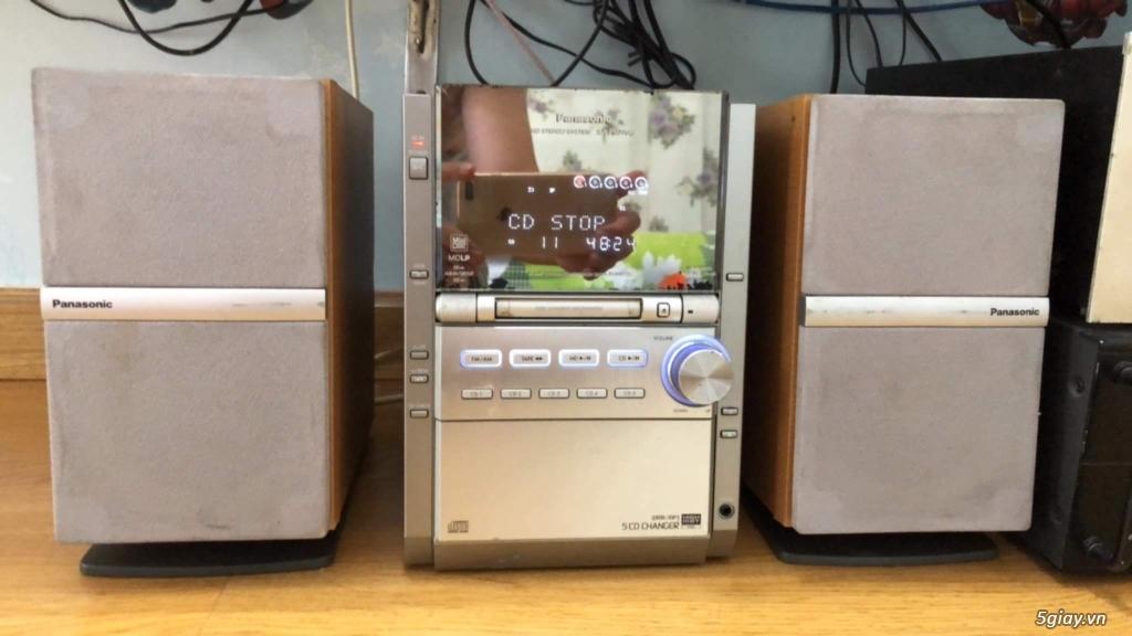 Dàn máy mini bookself 05 CD hiệu PANASONIC nội địa japan bi-wire hay