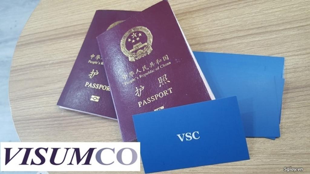 HCM-Nhận gia hạn visa đi Trung Quốc