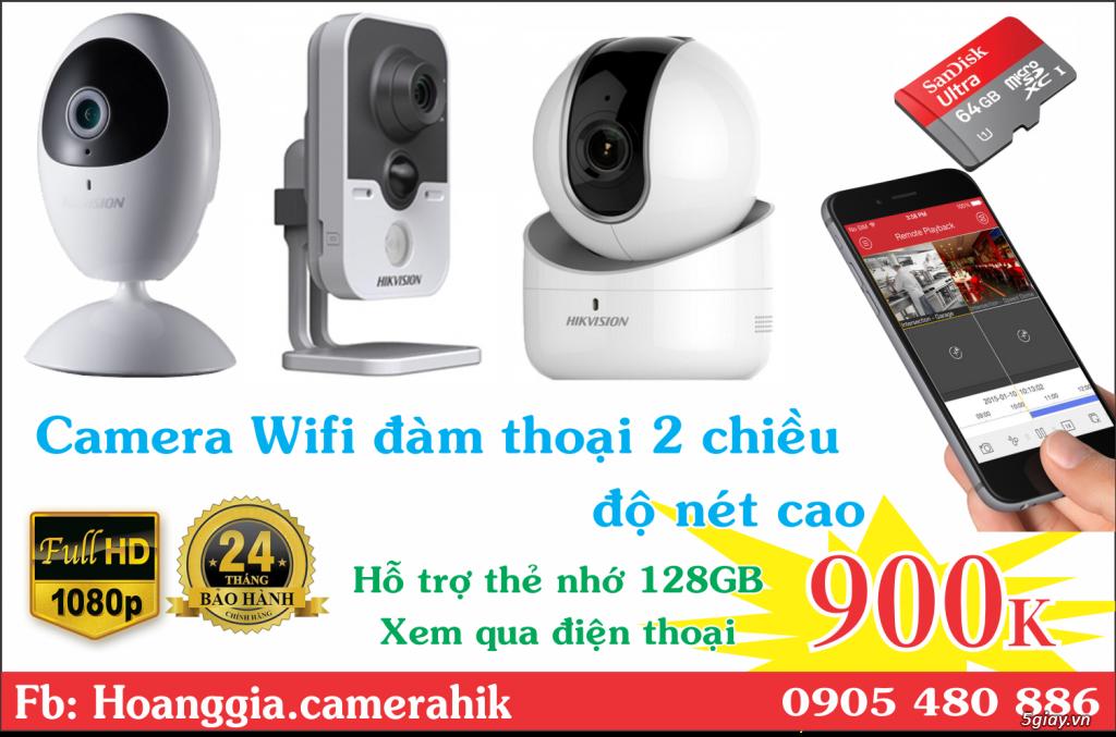 Trộn bộ 4 camera 1080p Hikvission giá rẻ - 3