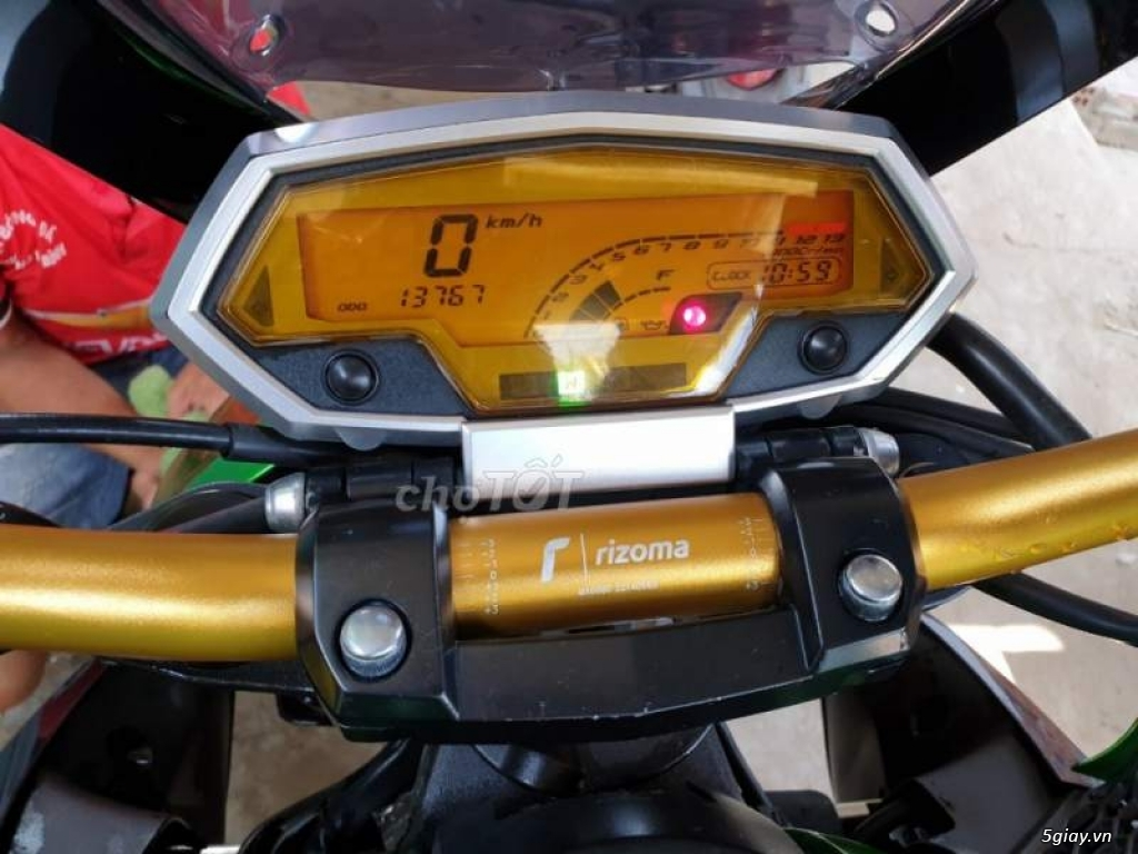 Z1000 2013 Odo chỉ 13xxx, giá cực tốt cho anh em 5giay - 4