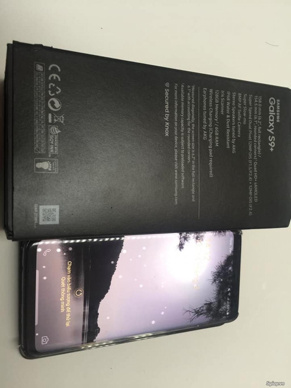 Cần bán S9 plus 2 sim BẢN 128GB (màu Midnight), fullbox, BH 10/2019 - 3