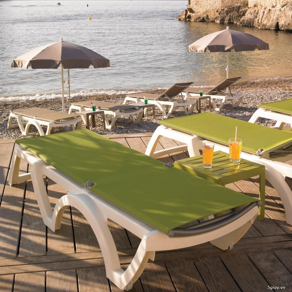 Ghế hồ bơi, ghế bãi biển nhập khẩu Pháp giá mềm