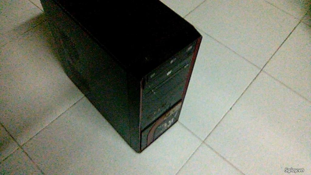 Bán ve chai Thùng CPU GIGATE G31 E5300 ram 2G HDD 250G WEB XEM PHIM OK