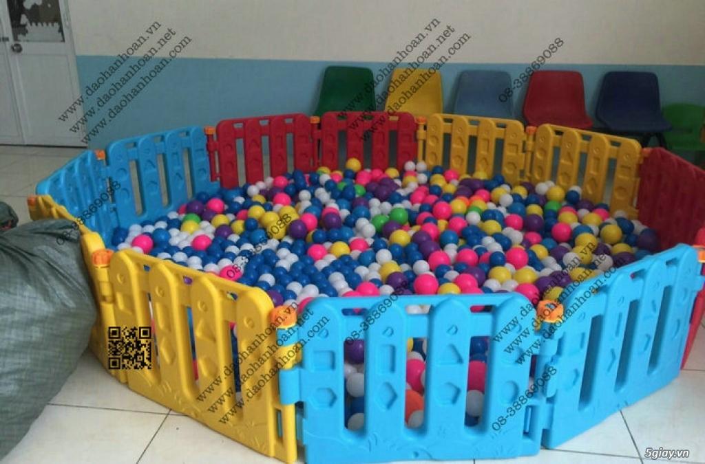 Đồ chơi trẻ em, nhà bóng trẻ em, bàn ghế mầm non - 11
