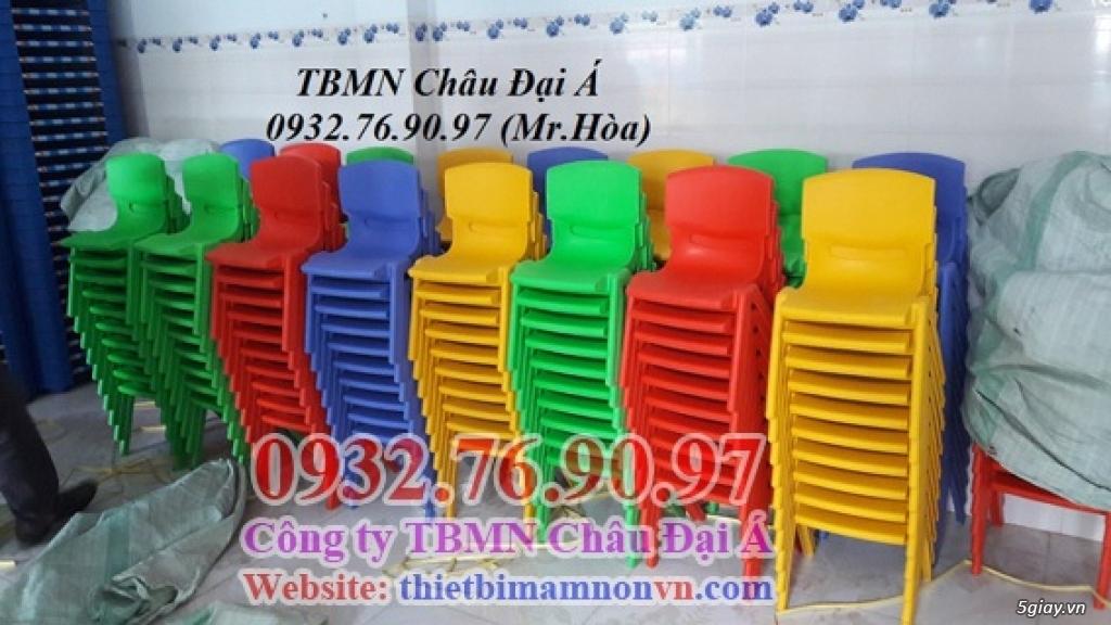 Ghế nhựa đúc mầm non thần thánh không thể thiếu - 1