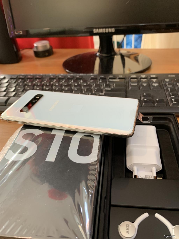 Cần bán Samsung Galaxy S10 màu Trắng, mới 100% công ty SS VN giá tốt - 1