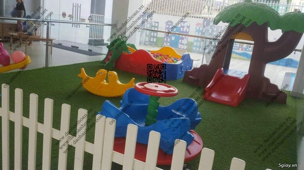 Đồ chơi trẻ em, nhà bóng trẻ em, bàn ghế mầm non - 5