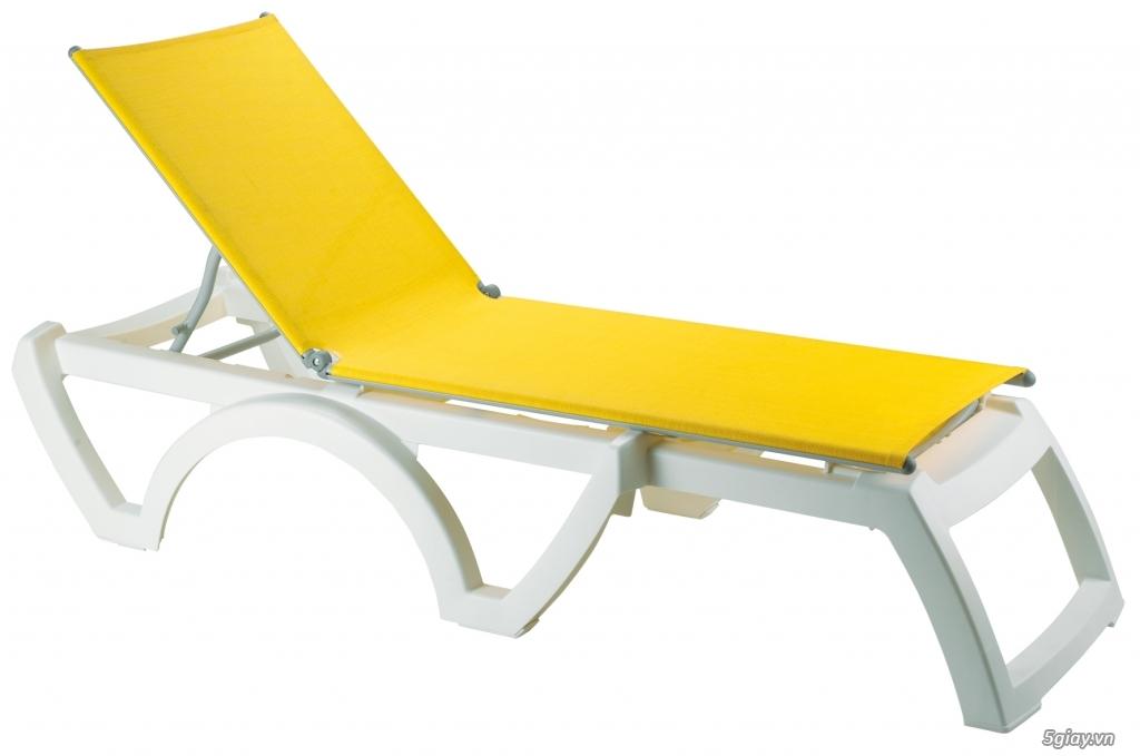 Ghế hồ bơi, ghế bãi biển nhập khẩu Pháp giá mềm - 2