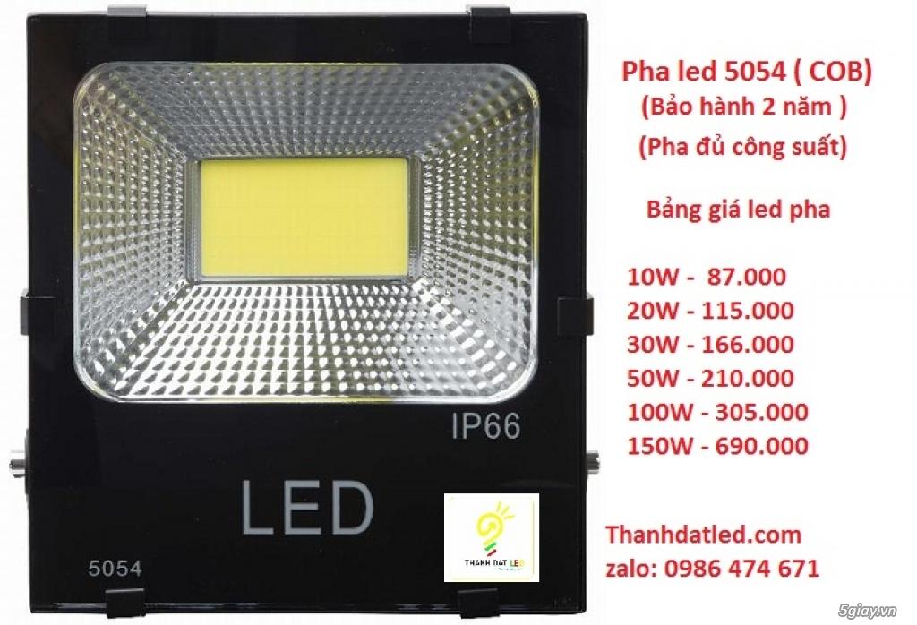 Báo giá đèn pha led 5054 ( bảo hành 2 năm 1 đổi 1 0